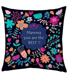 Buy Mamma You Are The Best Floral Design Fancy Cushion gifts-for-mom online