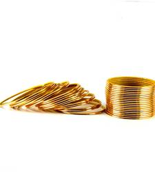 Buy antiqe bangles Color-Golden diwali-jewellery online