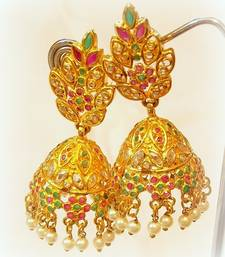 Buy BEAUTIFUL FINE  STUD JHUMKA EARRING jhumka online