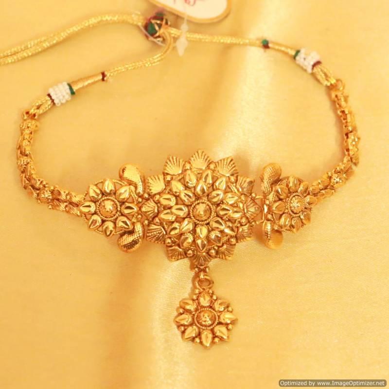 Buy Polki Gold Look Bajuband Online