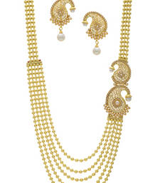 Buy CLASSICE DESIGNER SIDE PIECE NECKLACE SET necklace-set online