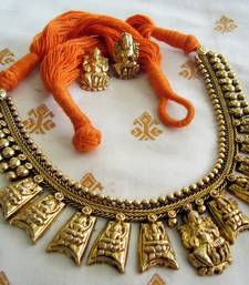 Buy Antique Necklaces navratri-lehenga-chaniya-choli online