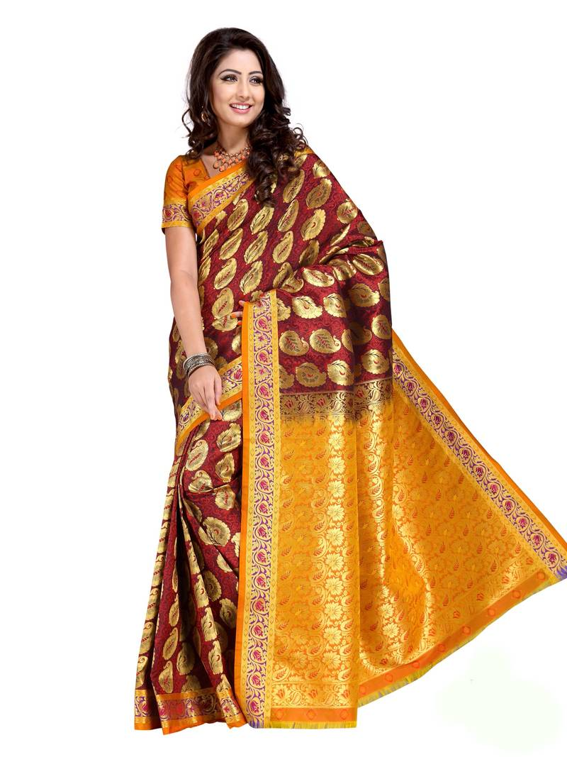 Most Popular Bridal Silk Sarees