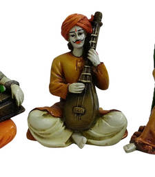Buy Villagers Playing Instruments sculpture online