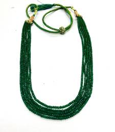 Buy Emerald Look Shaded Strand Necklace online