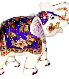 Buy Marble Elephant pair new-year-gift online