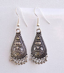 Buy Silver danglers-drop online