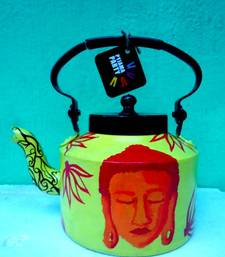 Buy Shades of Buddha-red and  yellow tea-kettle online