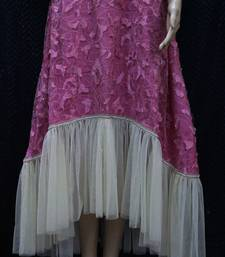 Onion Pink Designer Shimmer Dress shop online