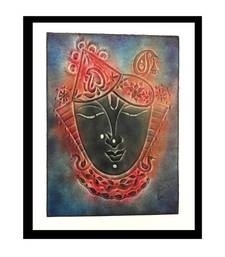 Buy Shreenath ji - Grey painting online
