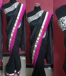 Buy black beauty silk-saree online