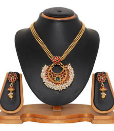 Buy Maroon  necklace-sets necklace-set online