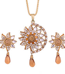 Buy Brown Diamond pendants Pendant online