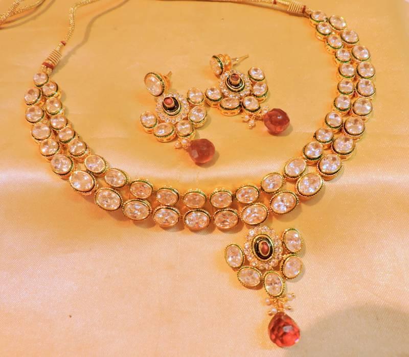 Buy elegant stone stylo necklace online for Elegant stone