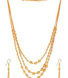 Buy Exclusive Pearl Necklace Set with Earrrings necklace-set online