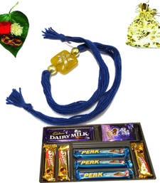 Buy Buy Rakhi with gifts chocolates online rakhi-with-chocolate online
