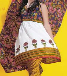 Buy Dress Material Cotton Designer Prints Unstitched Salwar Kameez Suit D.No 1701 dress-material online