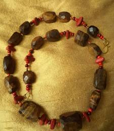 Buy Tiger's Eye Necklace -090142 Necklace online