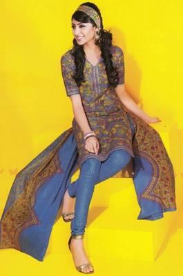 Dress material cotton designer prints unstitched salwar kameez suit d.no 1717