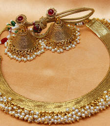 Buy Gorgeous Gold Plated Lorial Necklace necklace-set online