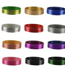 Buy Multicolor color Metel bangle bangles-and-bracelet online