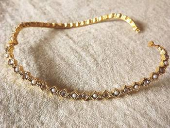 Delicate Anklet in Gold