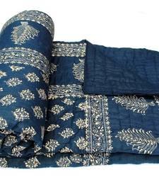 Buy Handblock Ethnic double bed jaipuri razai jaipuri-razai online