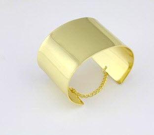 Golden Cuff Bangle