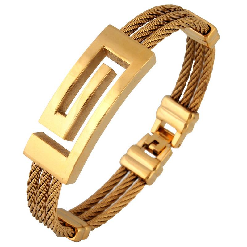 Buy Italian Designer 18K Gold Plated Surgical Stainless Steel ...