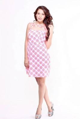 Ethnic Fusion Corset A-line Dress
