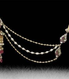 Buy kundan Gold key-chain key-chain online