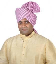 Buy Lehariya Khadi Print Kolhapuri Pheta Turban men-festive-wear online