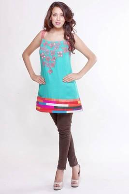 Ethnic Splash of Colour Tunic