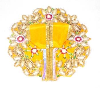 9'' Holy Star Flower Yellow Poshak