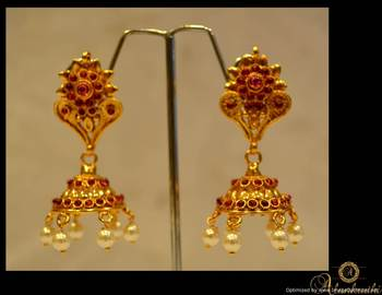 Temple Jewellery - Jhumka 26