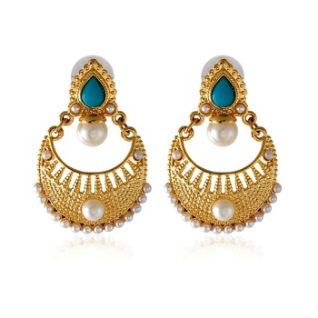 Royal Bling Beryl Frosted Precious Earring