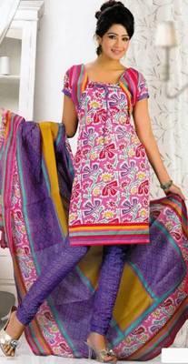 Crepe dress material elegant designer unstitched salwar suit d.no 8015