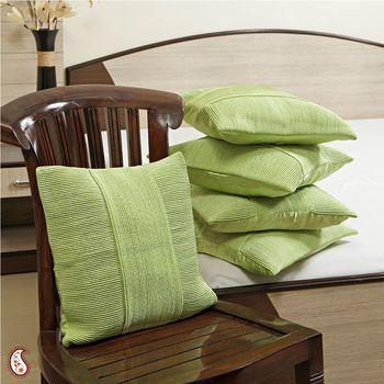 Designer silk pillow-covers