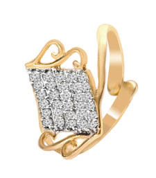 Buy Fashion Jewellery Cz Party Wear Womans And Girls Ad Ring Ring online