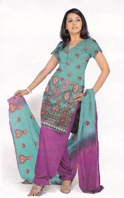 Just Women - Stylish and elegant ready to stitch salwar kameez set