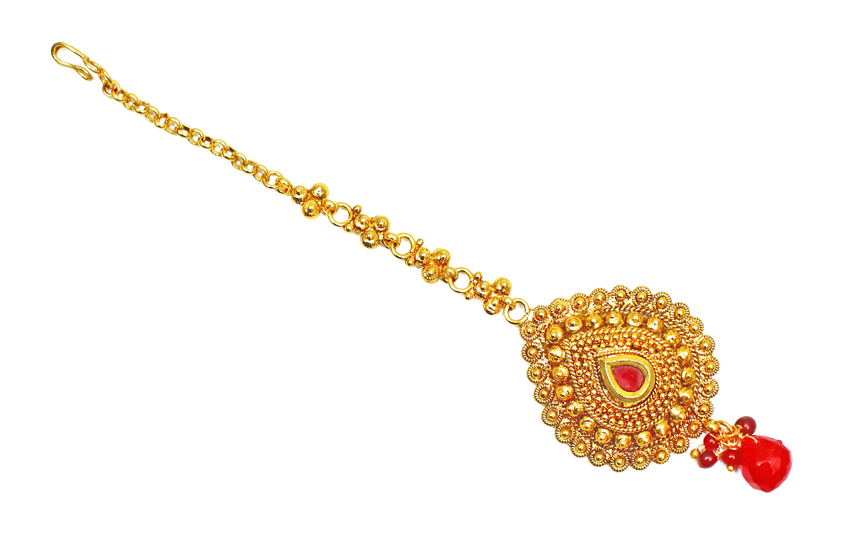 Golden maang tikka designs bridal jewellery bridal maang - Golden Maang Tikka Designs Bridal Jewellery Bridal Maang 4