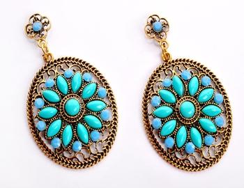 Fashionable Sky Blue Earring
