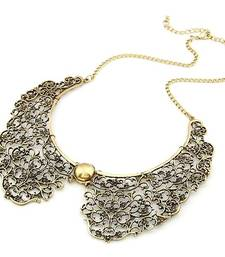 Buy Vintage Hollow Choker Neckpiece Necklace online