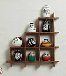 Buy Wall decor with miniature pots eid-gift online
