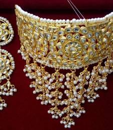 Buy Multicolor kundan necklace-sets pakistani-jewellery online