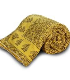 Buy Exclusive Jaipuri Handblock Print Double Bed Quilt Diwali Special Gift 340 black-friday-deal-sale online