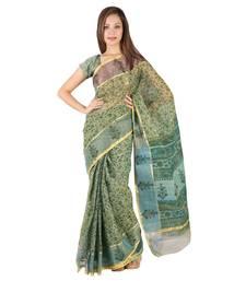 Buy Traditional Floral n Booti Print Kota Doria Saree Diwali Gift 237 diwali-sarees-collection online