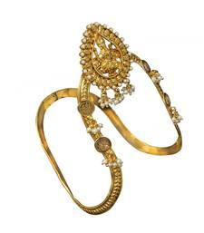 Buy Traditional & Antique Temple Bajuband or Vanki one Piece for Bridal women Jewellery Bajuband bajuband online