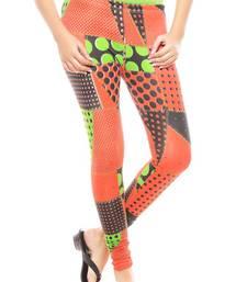 Buy multicolor Women's Printed Leggings ethnic-bottom online