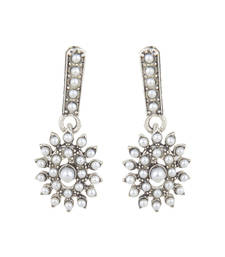 Buy Strike a statement whereever you go with Ethnic Festive Fashion Earrings stud online